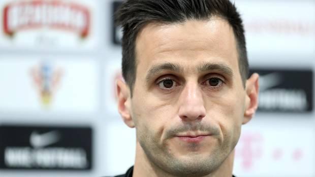 WM 2018: Nikola Kalinic während einer Pressekonferenz