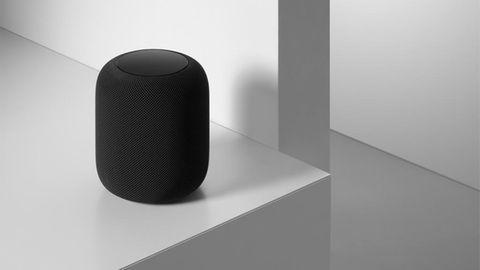 """So sieht Apples HomePod in der Farbe """"Space Grau"""" aus"""