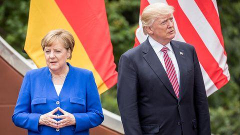 Donald Trump vs. Angela Merkel