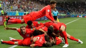 England Jubel
