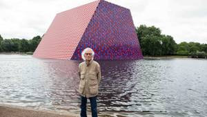 "Christos ""The Mastaba"" im Londoner Hyde Park"