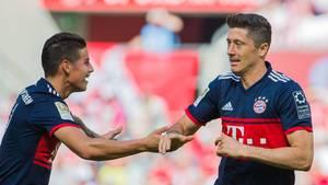 James und Lewandowski - die Bayern-Stars starten in die WM