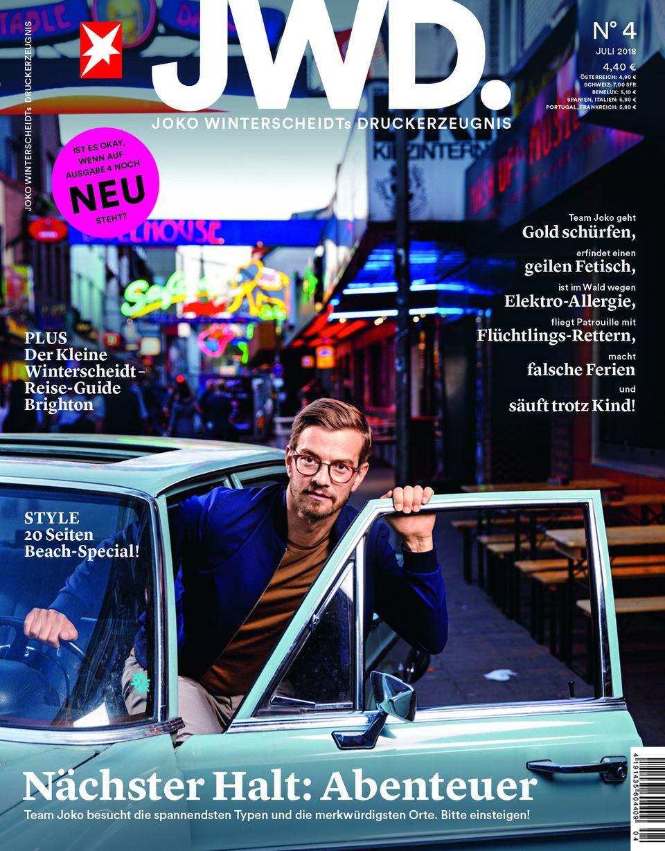 Cover der vierten Ausgabe JWD