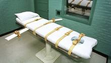 Hinrichtung in Thailand: Todeszelle des berüchtigten Huntsville Gefängnisses im US-Bundesstaat Texas