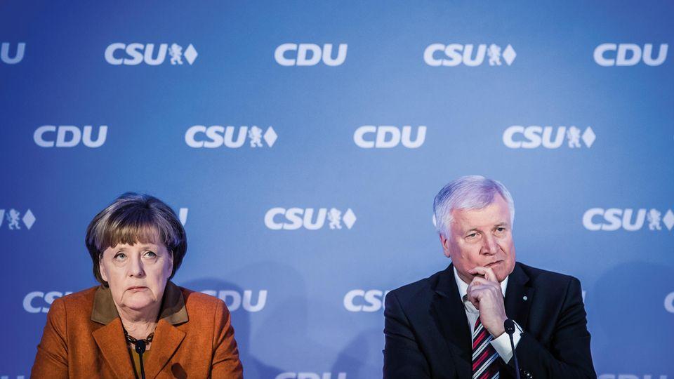 """Angela Merkel droht mit """"Richtlinienkompetenz"""": Was der Warnschuss für Horst Seehofer bedeutet"""
