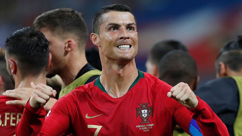 Ein bisschen Hähnchen und viel Sport: Ein Abendessen bei Cristiano Ronaldo kann eine ungewöhnliche Sache sein.