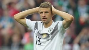 Thomas Müller im Spiel gegen Mexiko