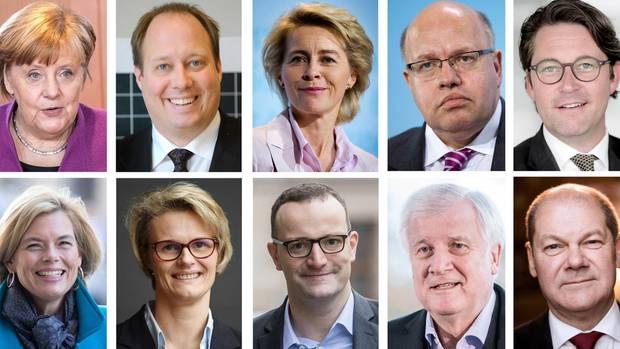100 Tage GroKo: So hat sich Merkels Mannschaft bisher geschlagen: Die Bundesminister in der Einzelkritik