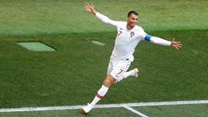 Diesmal nur ein Tor, trotzdem Mann des Tages: Cristiano Ronaldo von Portugal