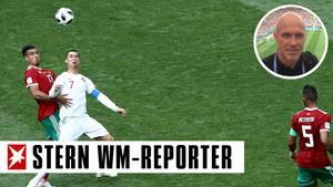 Ronaldo Marokko 2