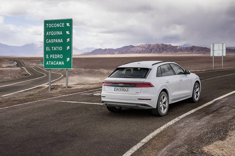 Audi Q8 55 TFSI Quattro - unterwegs in der Atacama-Wüste