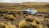 Audi Q8 55 TFSI Quattro - serienmäßig nur mit Verstelldämpfern; Luftfederung kostet Aufpreis