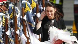 Neuseelands Premierministerin Jacinda Ardernist erst die zweite Regierungschefin der Welt, die im Amt Mutter wird.