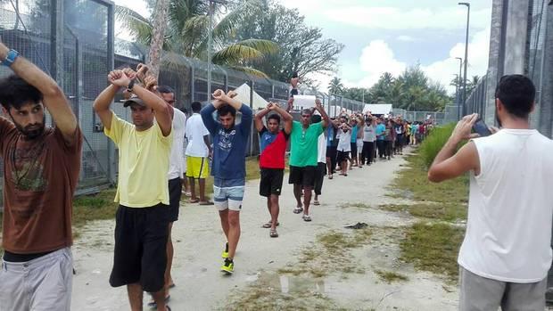 Räumung eines australischen Flüchtlingslagers auf der Insel Manus in Papua-Neuguinea