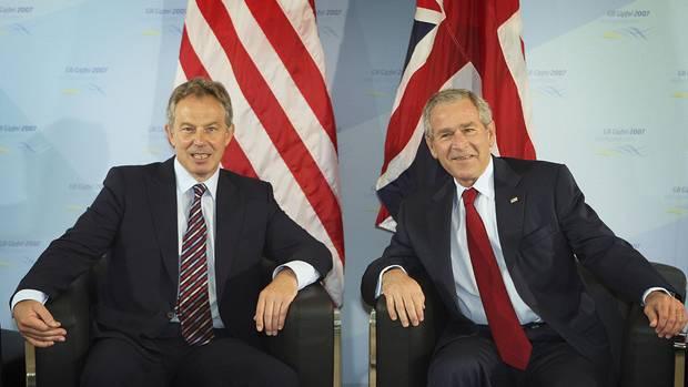 An der Seite der USA unter Präsident Bush zog Großbritannien 2003 in den Irak-Krieg