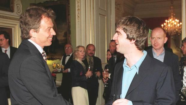 Einst hatte Blair denRuf einescoolenPolitikers, den Rockstars wie Noel Gallagher hofierten