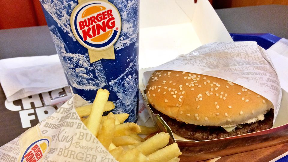 Whopper-Menü von Burger King