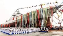 Die Schiffe vom Typ 055 können das Kräfteverhältnis im Pazifik verschieben.