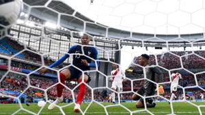 Erst 19 Jahre alt und schon ein ganz großer: Kylian Mbappé erzieltdas 1:0 für Frankreich
