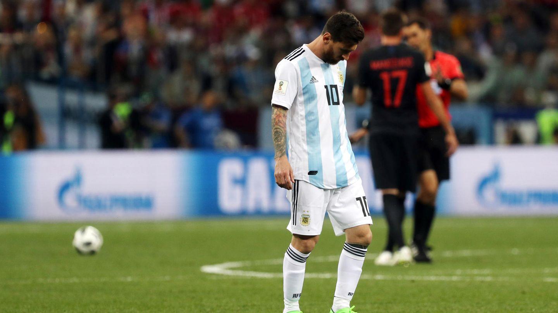 Lionel Messi Kroatien