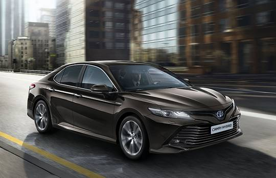 Toyota Camry - kommt 2019 auch wieder nach Westeuropa