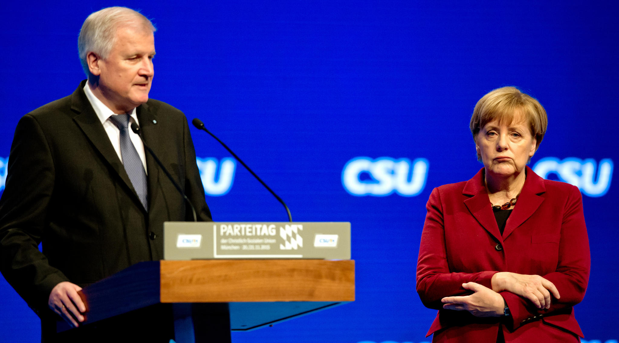 Merkel ve Seehofer