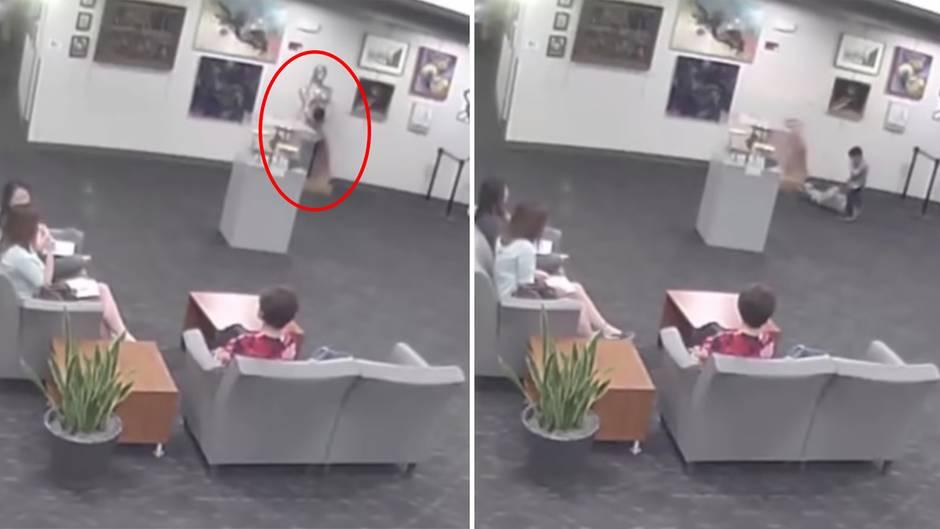 Folgenschweres Missgeschick: Junge zerstört 132.000-Dollar-Kunstwerk in Museum