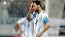Lionel Messi konsterniert - mit Argentinien wird er wohl keinen Titel mehr gewinnen