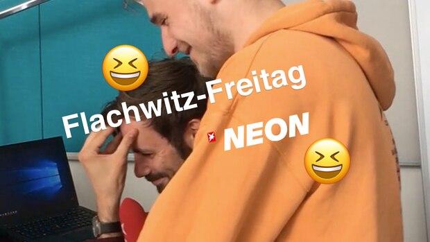 Flachwitz-Freitag: Wie begrüßt H.P. Baxxter seinen Vater?