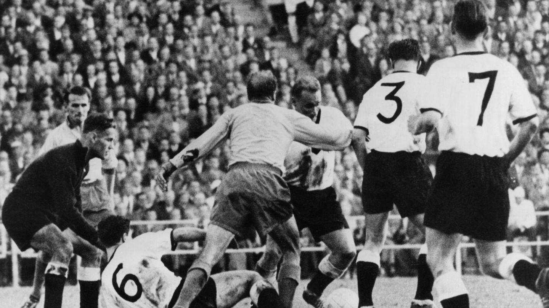 WM Halbfinale 1958 Deutschland gegen Schweden