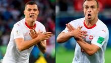 WM 2018 Granit Xhaka Xherdan Shaqiri