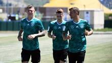 WM 2018 Toni Kroos Marco Reus Thomas Müller