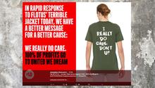 """Melania Trump: Organisation nutzt """"Mir egal""""-Jacke für den guten Zweck"""