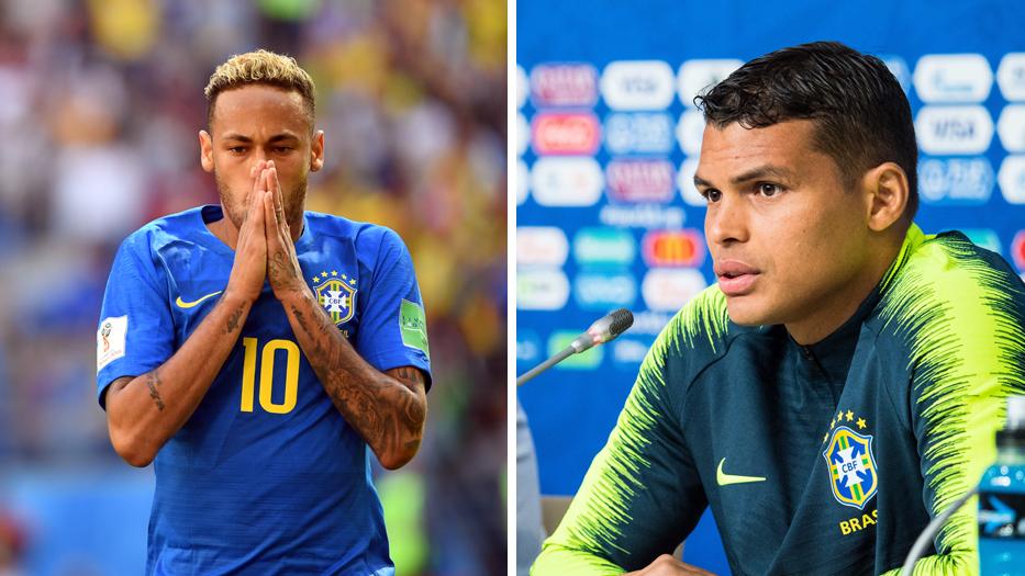 Neymar Thiago Silva