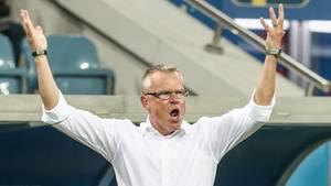 Beschwerte sich nach Abpfiff über angebliches unfaires Jubel der Deutschen: Schweden-Trainer Janne Andersson