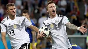 Marco Reus nach dem 1:0 gegen Schweden