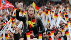 WM 2018: Grenzenloser Jubel am Brandenburger Tor