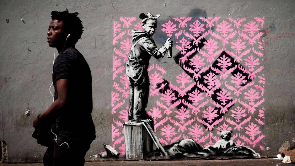 Banksy - Paris - neue Kunstwerke