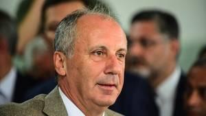 Muharrem Ince, Präsidentschaftskandidat der Oppositionspartei CHP, hat den Wahlsieg von Erdogan anerkannt