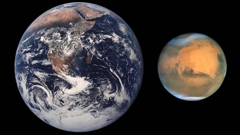 Weltraum-Spektakel: Der Mars kommt der Erde selten nahe - hier erfahren Sie wann