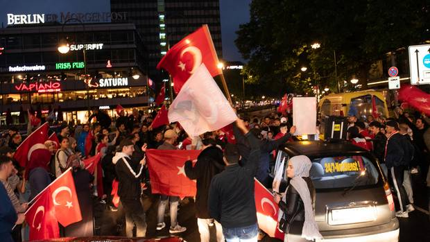 Erdogan Fans in Berlin
