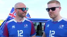 Isländische Fan-Kultur
