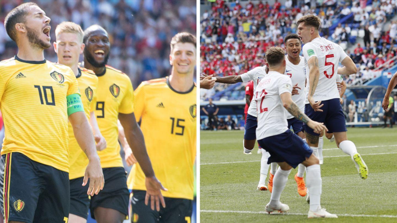 England und Belgien gehören zu den Titelfavoriten bei der WM 2018