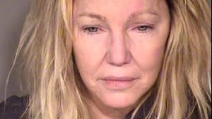 Heather Locklear nach ihrer Festnahme