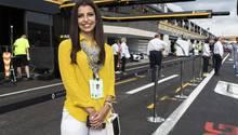 Sie war schon immer begeistert vom Rennsport: Aseel Al-Hamad aus Saudi-Arabien