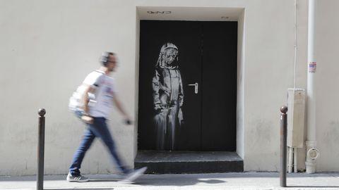 Street-Artist Banksy hat in Paris einen kleinen Hype ausgelöst – aber handelt es sich überhaupt um seine Werke?