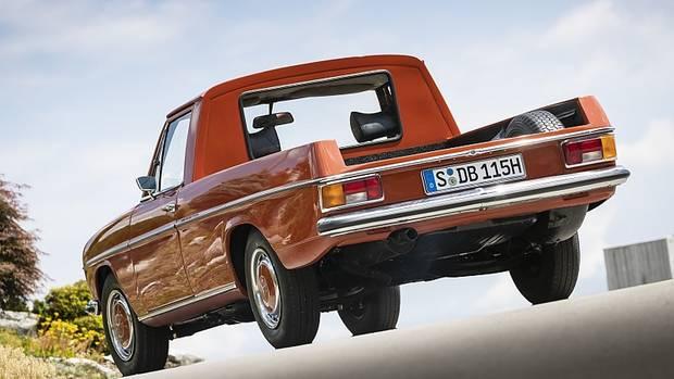 Der Mercedes La Pickup wurde nahe Buenos Aires gebaut