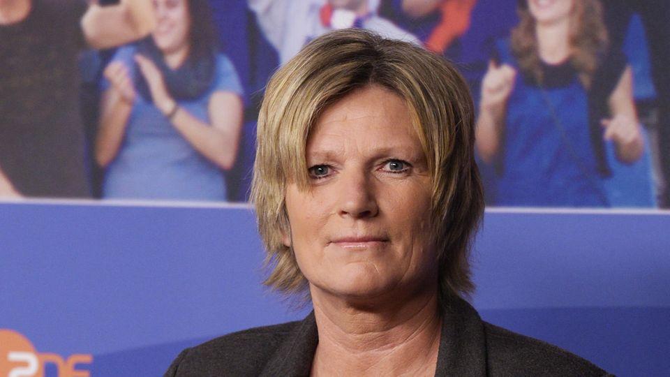 ZDF-Reporterin Claudia Neumann