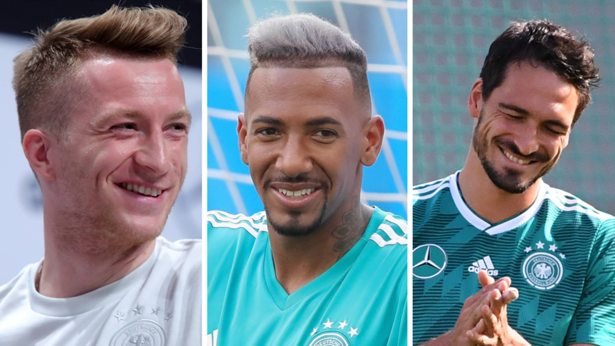 Wm 2018 Die Deutschen Spieler In Der Frisuren Einzelkritik