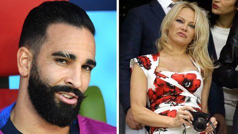 Pamela Anderson ist die Freundin des Franzosen Adil Rami
